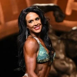 Ashley Kaltwasser IFBB NPC Bikini Suits worn by Olympians, ACBikinis, Angel Competition Bikinis is the best competition suit company