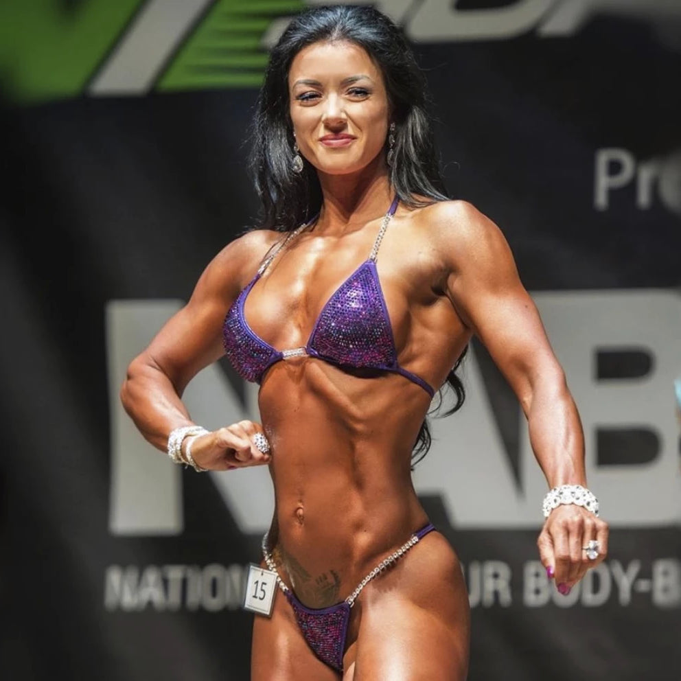 Competition Wellness Suit Competition Bikini Suit Competition Figure Suit for NPC IFBB Competition