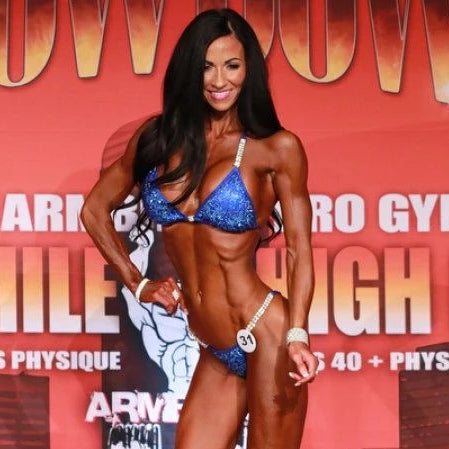 IFBB Bikini Pro Kerryne Henrich physique competition figure show angel competition bikinis suits crystals crystallized pro brazilian