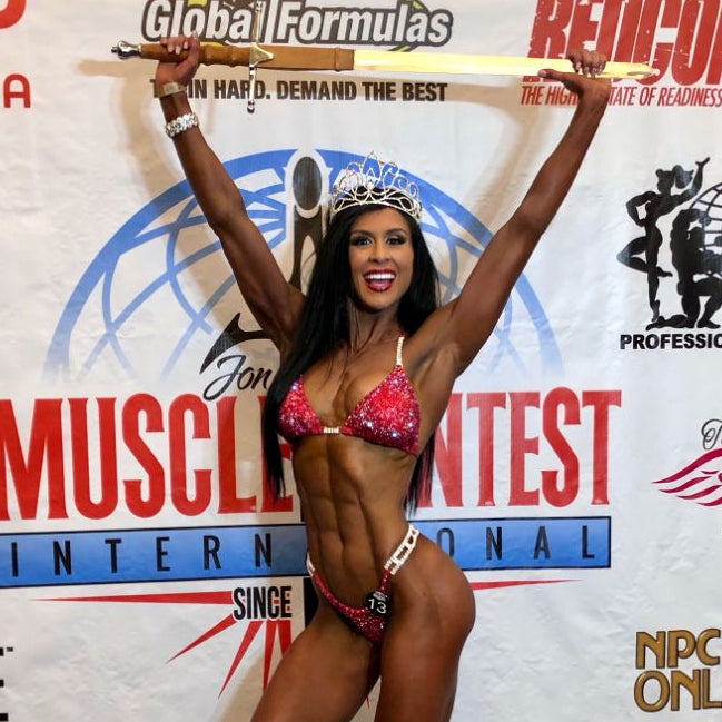 Ashley Kaltwasser Olympia Bikini Suit IFBB Olympia Suit Replica Suit for NPC Olympia