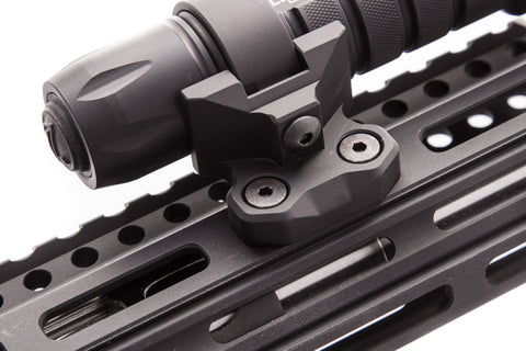 Ring Light Mount For M Lok Handguards Arisaka