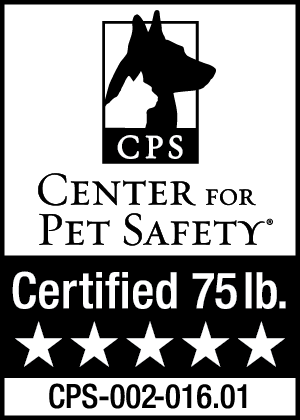 Center for Pet Safety Certified 75lb