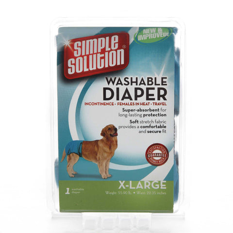 Hollywood Feed - Simple Solution Washable Diaper Garment - X-Large - Waste Control