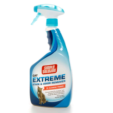 Hollywood Feed - Simple Solution Extreme Cat Stain and Odor Remover - 32oz - Waste Control