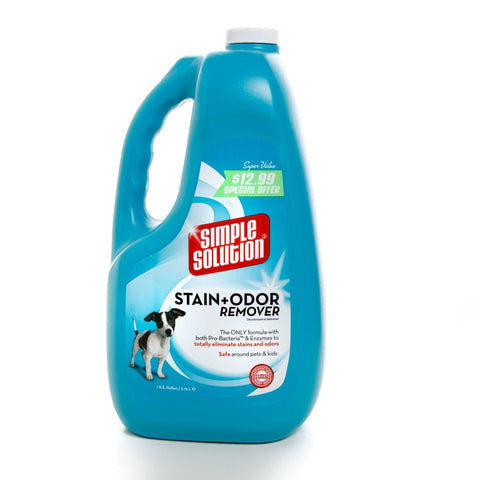 Hollywood Feed - Simple Solution Stain and Odor Remover - 1 Gallon - Waste Control
