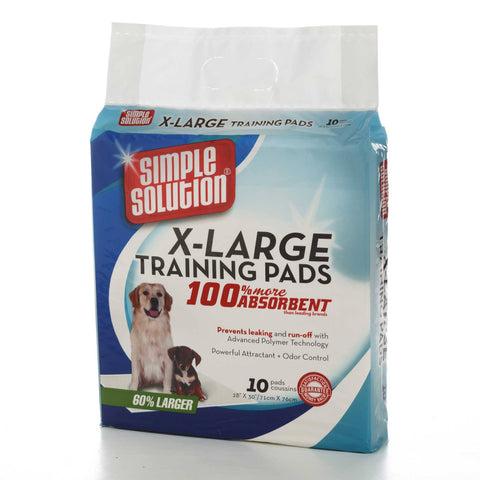 Hollywood Feed - Simple Solution Training Pads - 10ct - X-Large - Waste Control