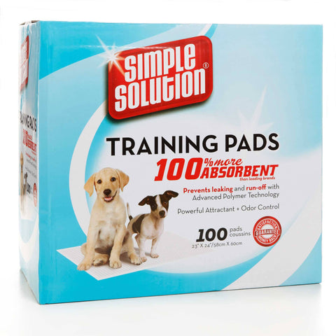 "Hollywood Feed - Simple Solution Training Pads - 100ct - 23""x24"" - Waste Control"
