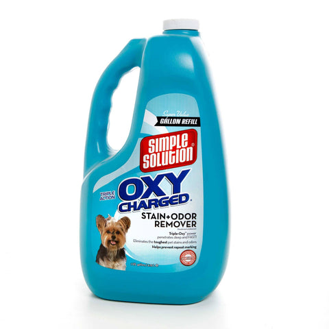 Hollywood Feed - Simple Solution Oxy Stain and Odor Remover - 1 Gallon - Waste Control