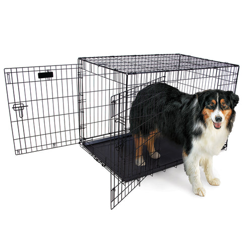 "Hollywood Feed 2 Door Wire Crate - Medium/Large (36"")"