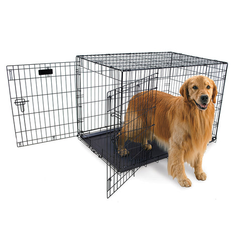 "Hollywood Feed 2 Door Wire Crate - Large (42"")"