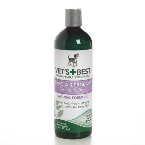 Hollywood Feed - Vet's Best Shampoo - Hypo-allergenic - 16oz - Shampoo