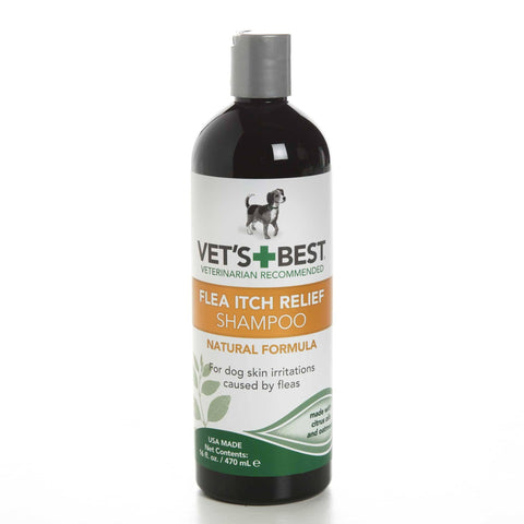 Hollywood Feed - Vet's Best Shampoo - Flea Itch Relief - 16oz - Shampoo