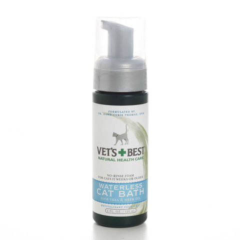 Hollywood Feed - Vet's Best Waterless Cat Bath - 4oz - Shampoo