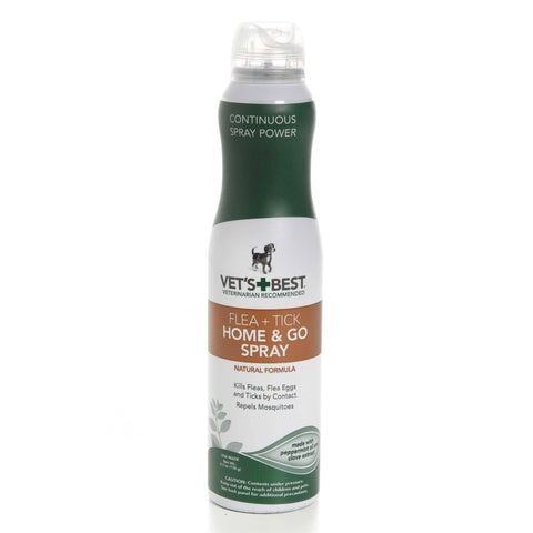 Hollywood Feed - Vet's Best Flea & Tick Home & Go Spray - 6.3oz - Flea & Tick