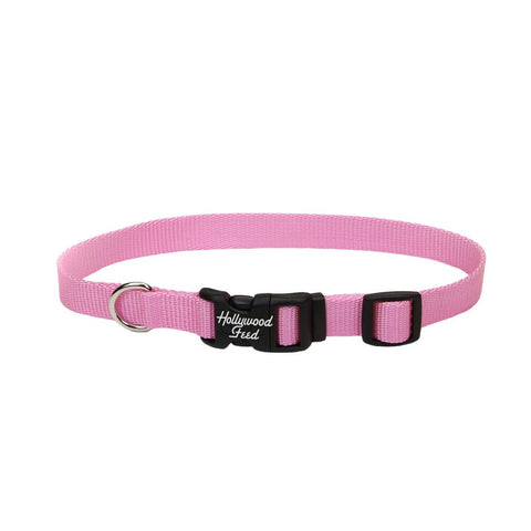 Hollywood Feed Nylon Collar - Pink