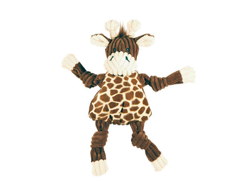 Huggle Hounds - Plush Corduroy Durable Knotties Girafffe Knottie