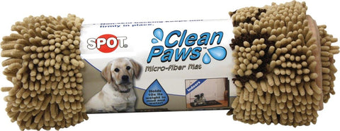 Clean Paws Mat Tan 35x24