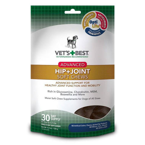 Vet's Best Soft Chew - Hip & Joint - Advanced