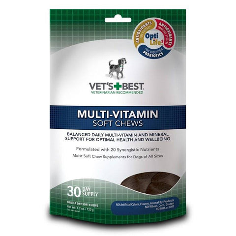 Vet's Best Soft Chew - Multi-Vitamin