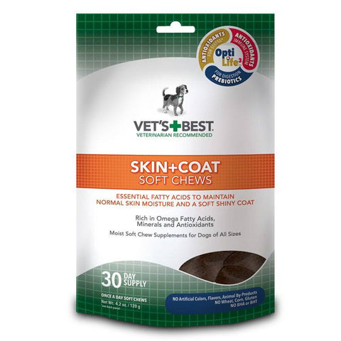 Vet's Best Soft Chew - Skin & Coat