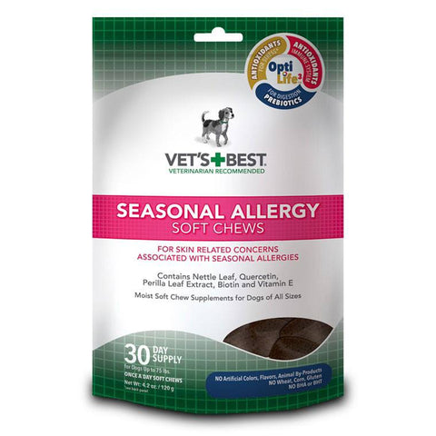 Vet's Best Soft Chew - Seasonal Allergy