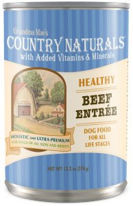 Country Naturals Dog Food - Healthy Entrees Beef - 12/cs