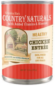 Country Naturals Dog Food - Healthy Entrees Chicken - 12/cs