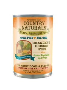 Country Naturals Dog Food - Ultra Premium Plus Chicken Stew - 12/cs