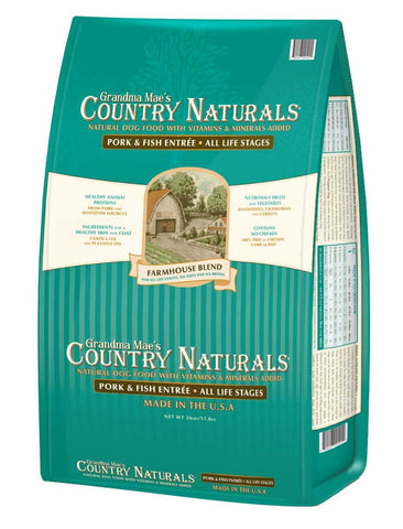 Country Naturals Dog Food - Farmhouse Blend Pork & Fish Entrée