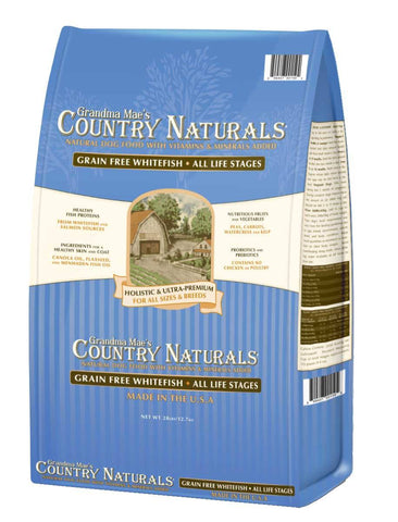 Country Naturals Dog Food - Grain Free Whitefish