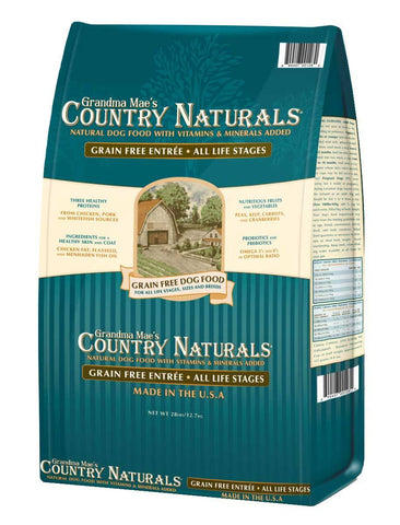 Country Naturals Dog Food - Grain Free Chicken Entrée