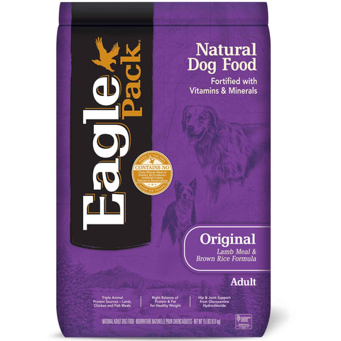 Hollywood Feed - Eagle Dog Food - Lamb & Brown Rice - Dry Dog Food
