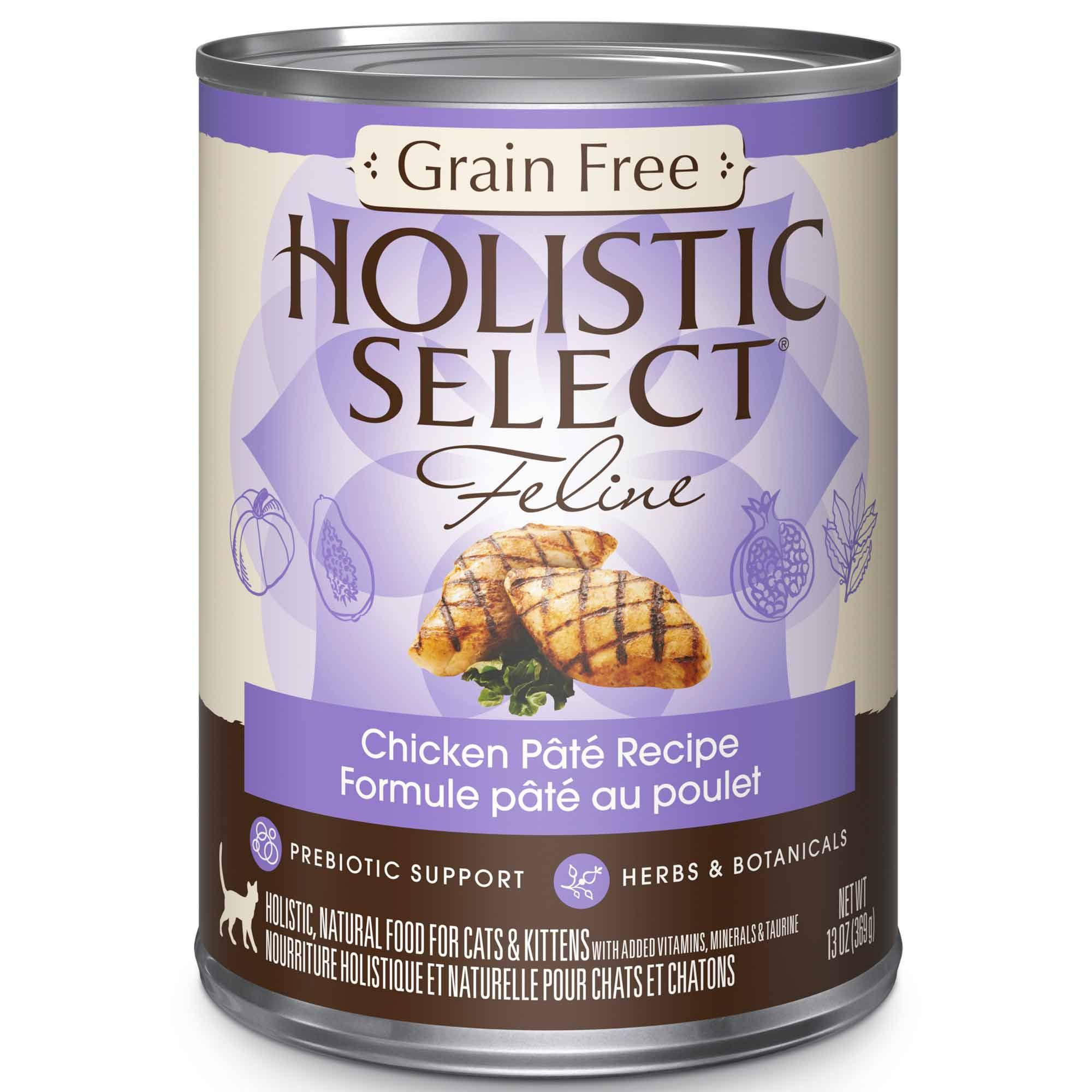 Holistic select cat food grain free chicken pate hollywood feed hollywood feed holistic select cat food grain free chicken pate canned cat food forumfinder Image collections