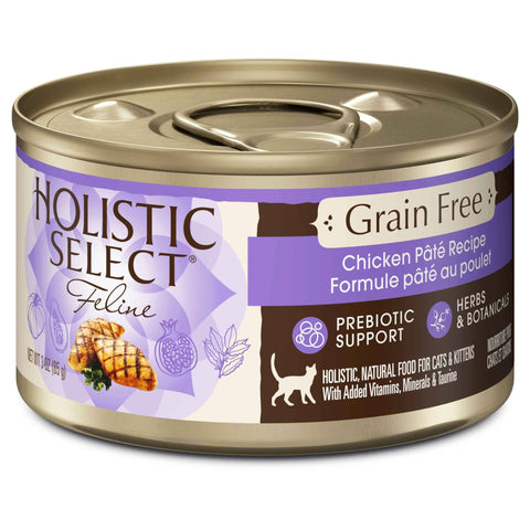 Hollywood Feed - Holistic Select Cat Food - Grain Free Chicken Pate - Canned Cat Food - 1