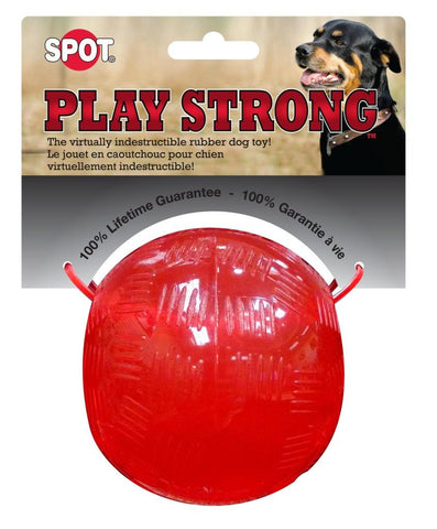 Play Strong Rubber Ball - 3.75""