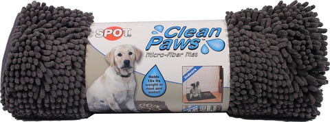 Clean Paws Absorbent Mat - Grey