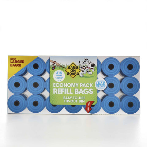 Hollywood Feed - Bags On Board - 21 Rolls - Waste Control