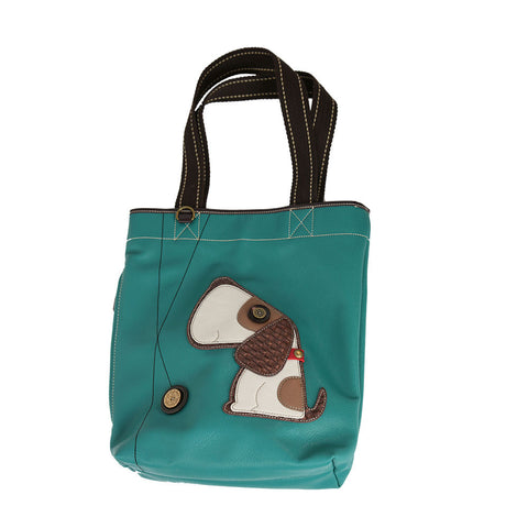 Chala - Tote With Charm - Dog