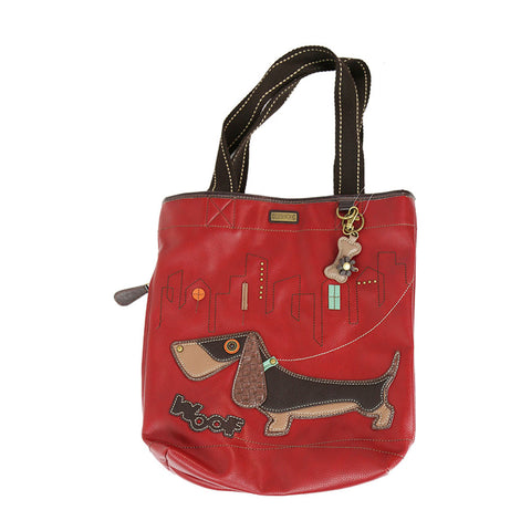 Chala - Tote With Charm - Dachshund
