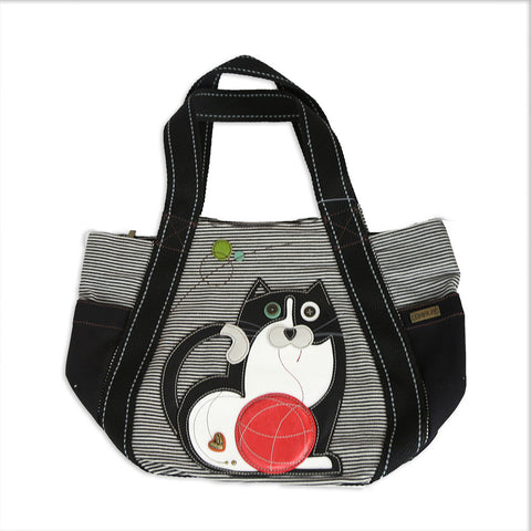 Chala - Carryall Tote - Cat Stripe
