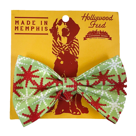 Memphis Made Bow Tie - Holiday - Large