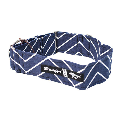 Mississippi Made Combo Collar - Chevron 2""