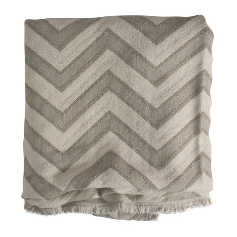 North Carolina Made Blanket - Chevron - Large