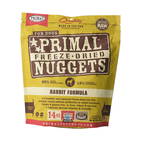 Primal - Freeze Dried Dog - Rabbit Formula