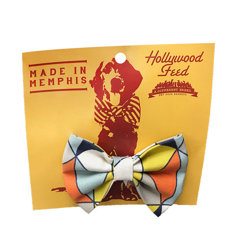 Memphis Made Bow Tie - Dimensions - Small