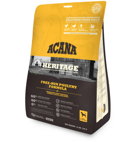 ACANA Dog Food - Heritage Free-Run Poultry