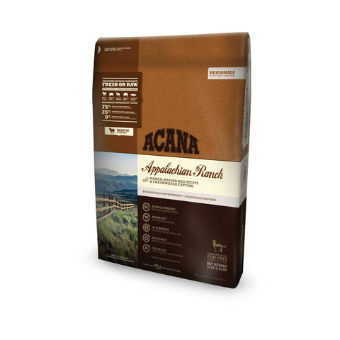 Hollywood Feed - Acana Cat Food - Regionals Applachian Ranch Cat & Kitten - Dry Cat Food