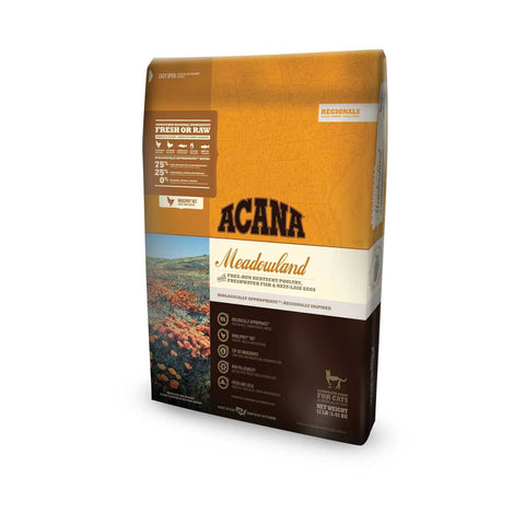 Hollywood Feed - Acana Cat Food - Regionals Meadowland Cat & Kitten - Dry Cat Food