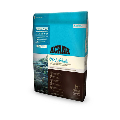Hollywood Feed - Acana Cat Food - Regionals Wild Atlantic Cat & Kitten - Dry Cat Food