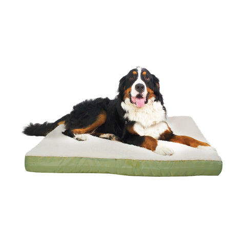 "Canine Cushion Double Sided Bed 36"" x 45"" (Assorted Colors)"